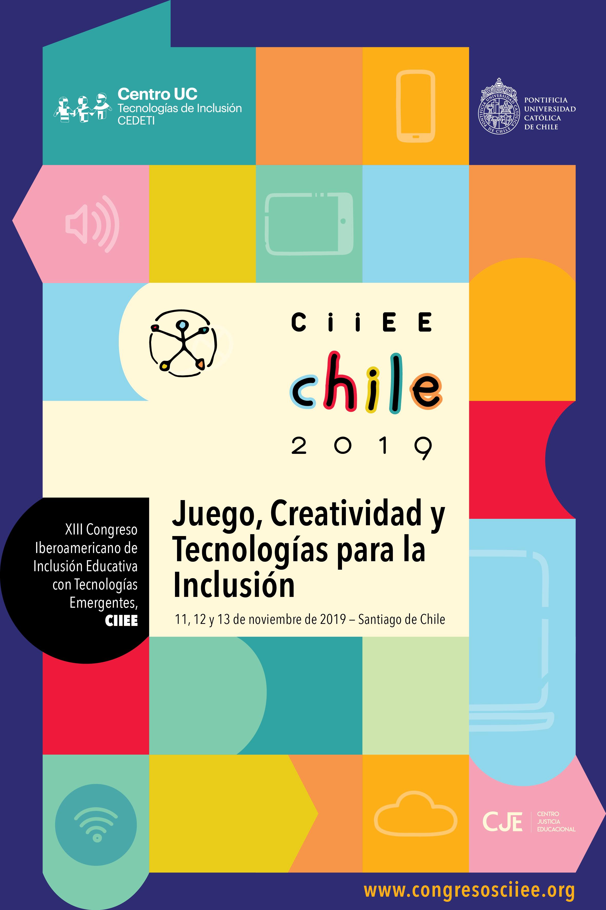 Afiche del Congreso CIIEE 2019