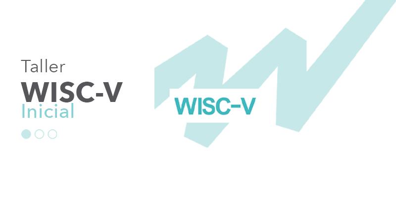 imagen con logo de taller WISC-V nivel inicial