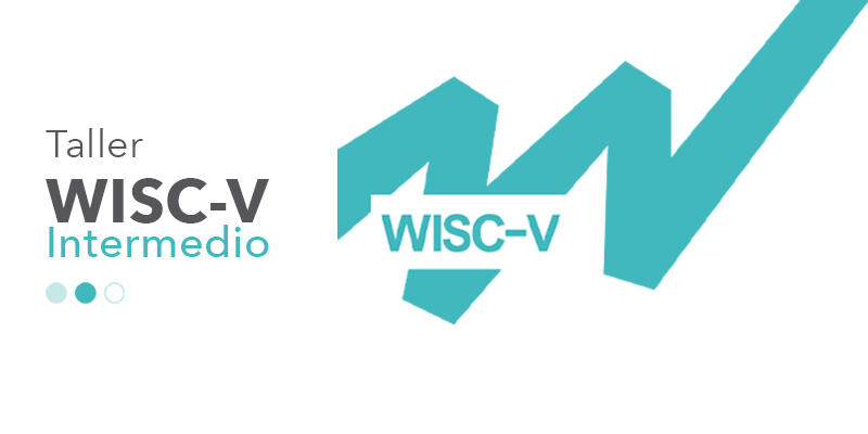 imagen con logo de taller WISC-V nivel intermedio
