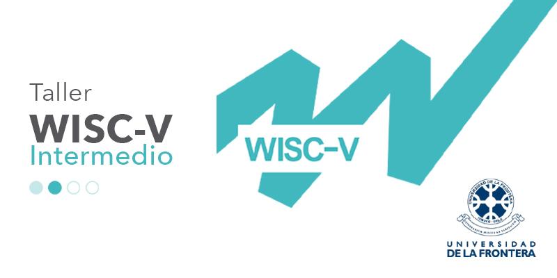 imagen con logo de taller WISC-V nivel intermedio UFRO
