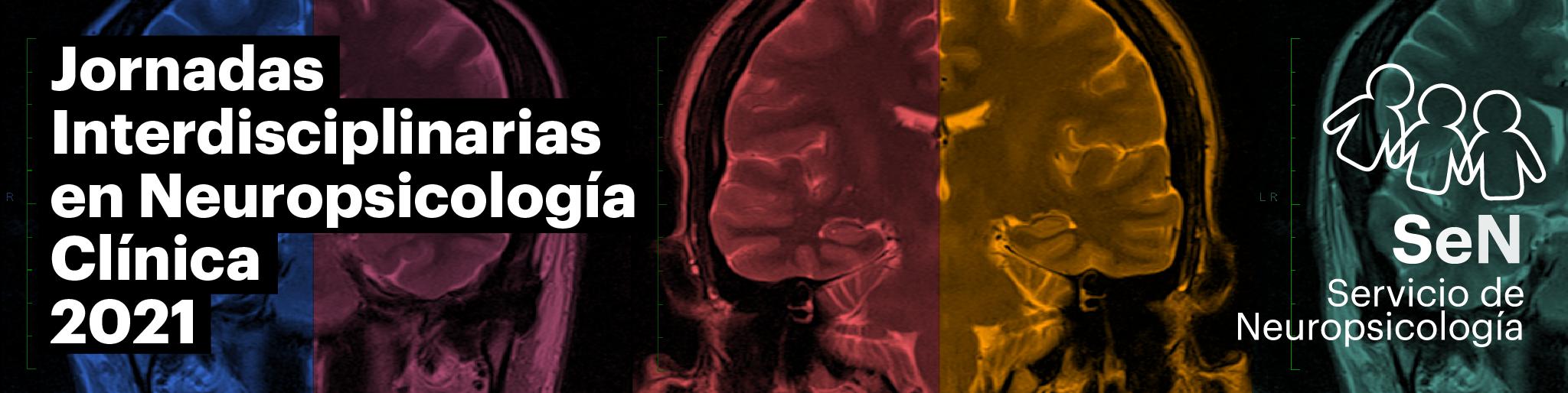 Banner de las Jornadas Interdisciplinarias de Neuropsicología Clínica